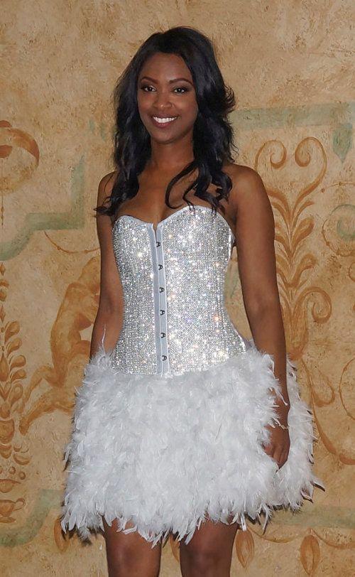 Crystal Corset Dress #ShopSimple | Corset | Pinterest | Estilo