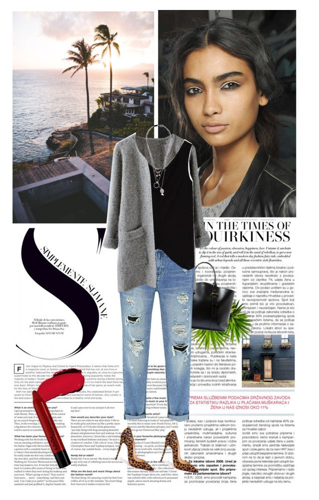 """Saturday mood"" by khammy ❤ liked on Polyvore featuring Lanvin, Zara, Maison Margiela, Christian Louboutin, L'Oréal Paris and NYX"