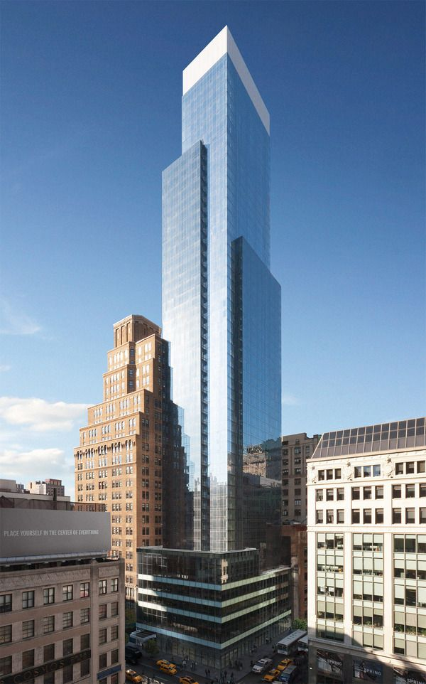 The Continental At 885 Sixth Ave In Midtown South Skyscraper Architecture Building Architecture Building