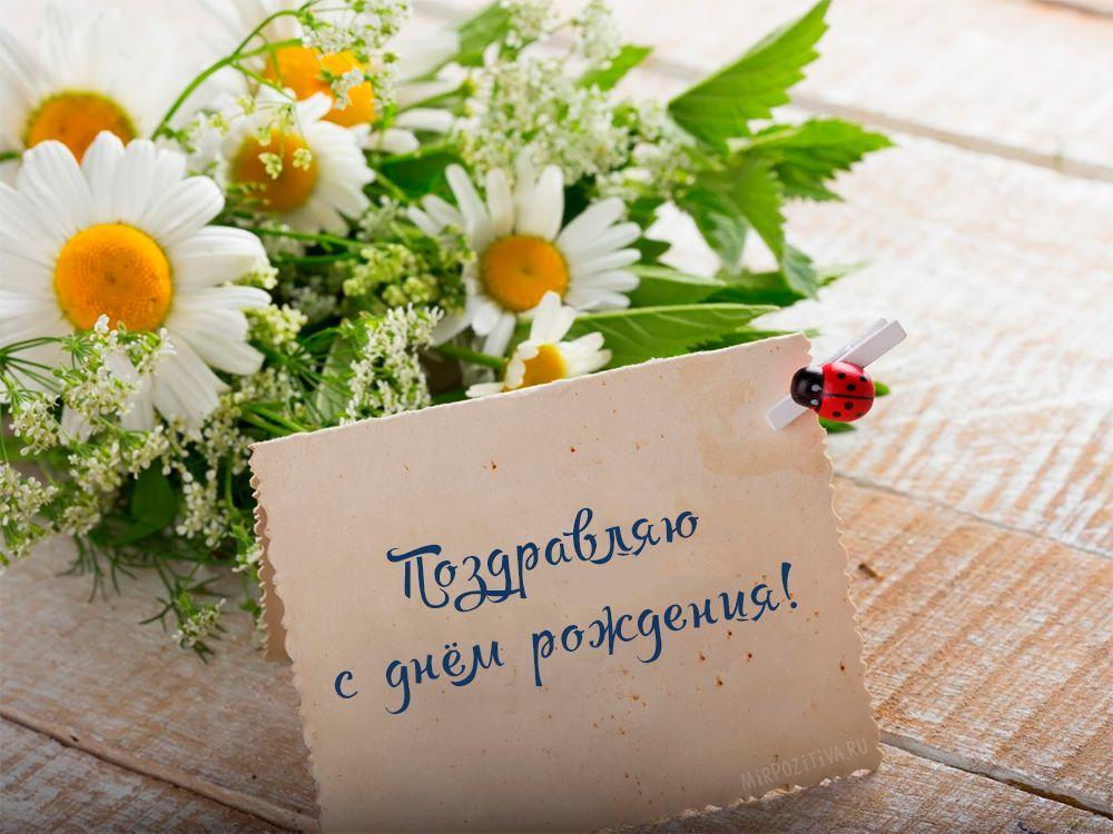 поздравление с днем рождения открытки цветы оригинальные потолок позволяет
