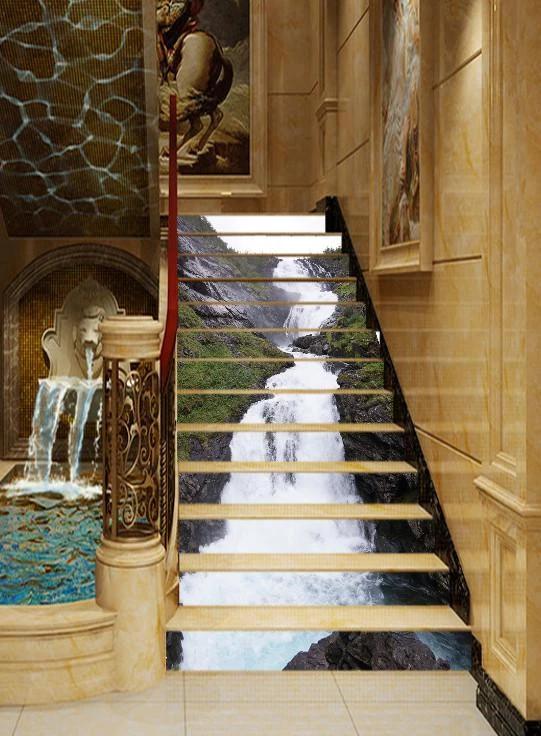 Best 3D Sl*P* Running Stream 555 Stair Risers Stair Risers 400 x 300