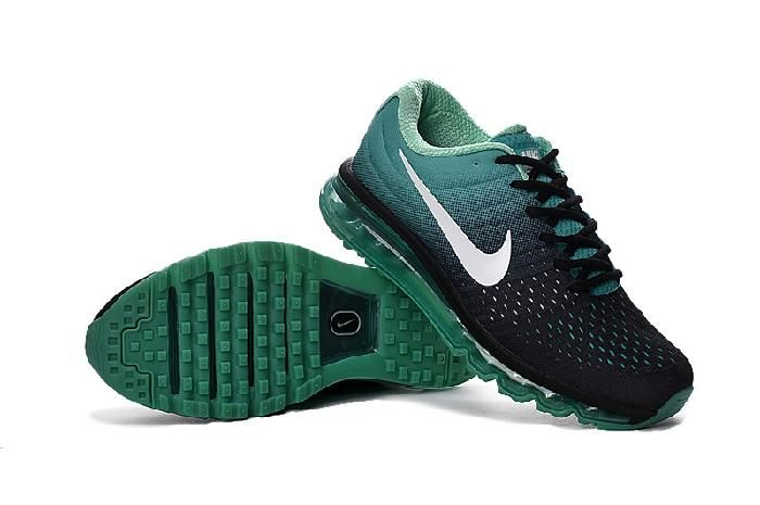 087dba91035092 Clearance Nike Air Max 2017 Peacock Green White Black Sneakers New -  69.89