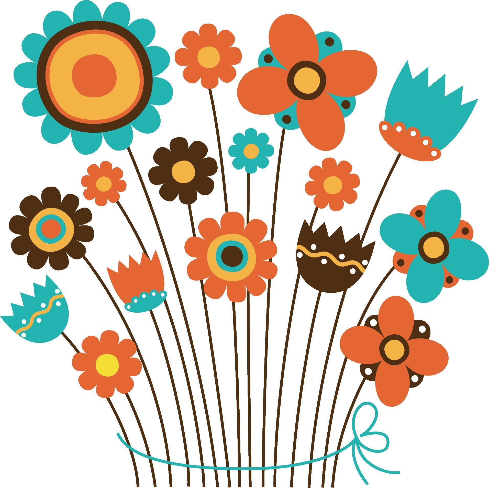 花束イラスト いろんな花ver2 花 イラスト 花 イラスト かわいい イラスト