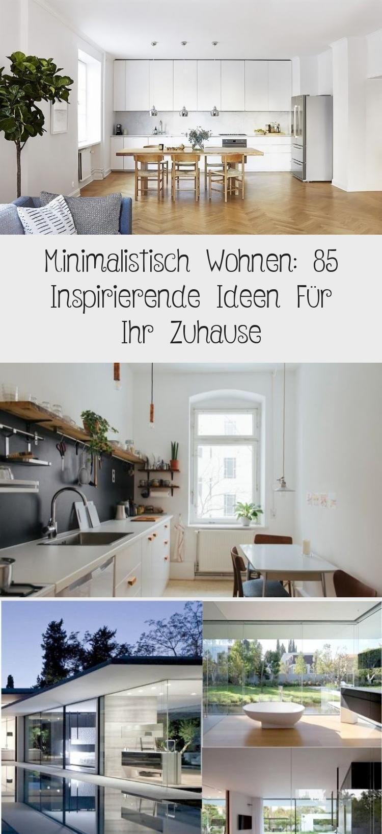 Minimalistisches Wohnen
