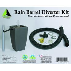Rain Barrel Deluxe Downspout Diverter Kit Home Depot Canada Rain Barrel