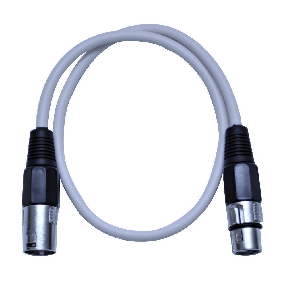SAXLX-2 - White 2 Foot XLR Patch Cable