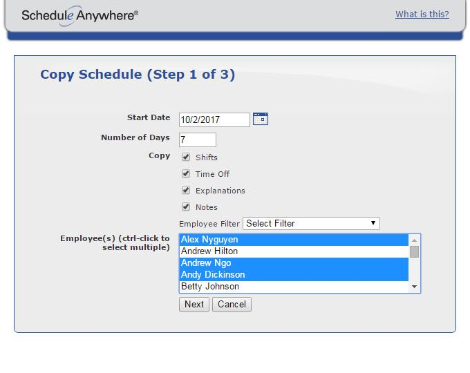 employee scheduling software scheduleanywhere News to Go 3 Pinterest