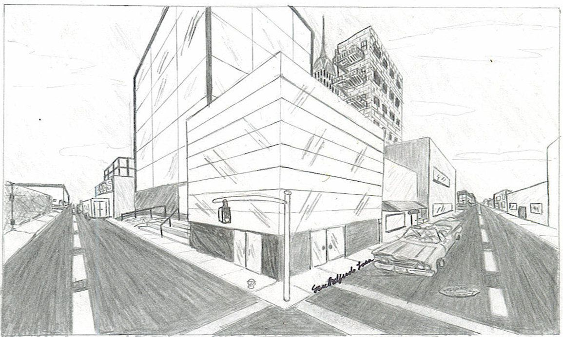 two point cityscape by alpha dragon building pinterest point