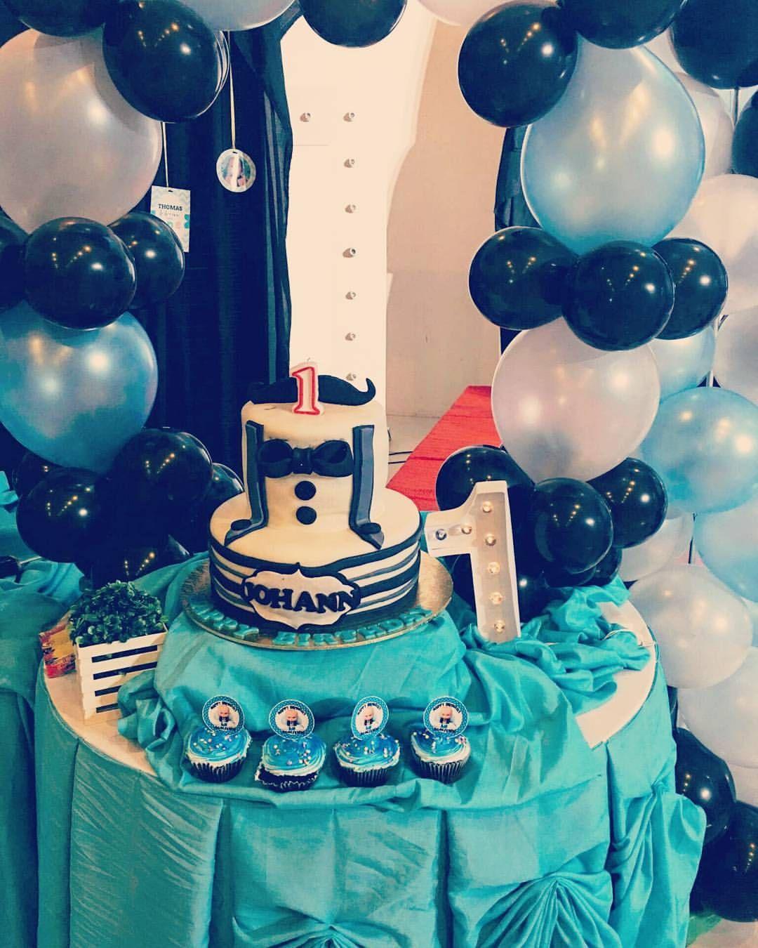Bossjohann bossbabyparty baby party boss baby cake pops