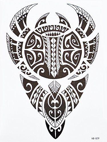 Tribal Tattoo Noir Hb829 Bras Tatouage Autocollants Maori Et Motif Tribal Amazon Fr Beaute Et Tatouages Autocollants Tatouage Marquisien Tatouage Polynesien