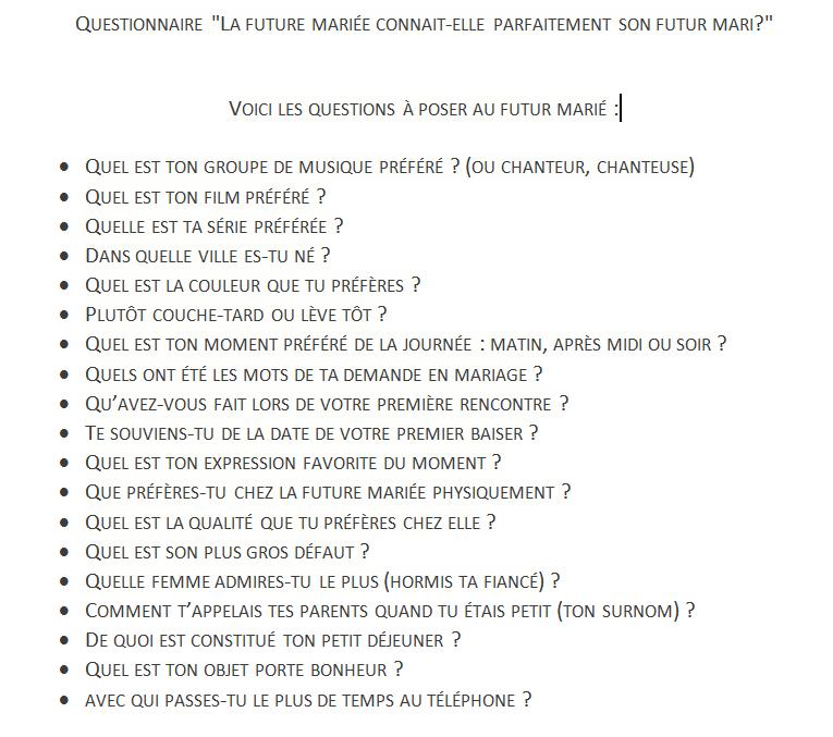 Questionnaire bachelorette pinterest questionnaire stopboris Image collections