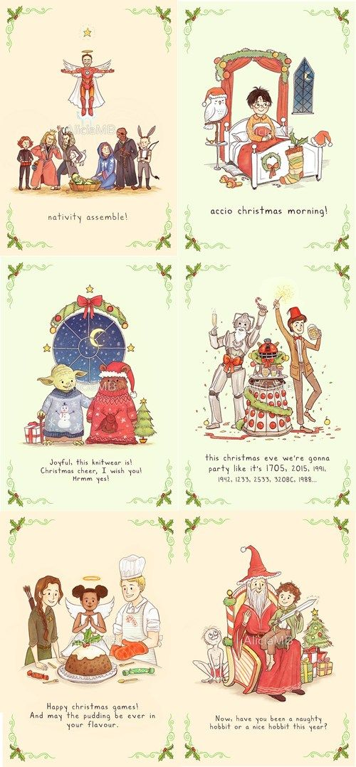 Tis the Season to be Nerdy | Fandoms, Fandom and Stuffing