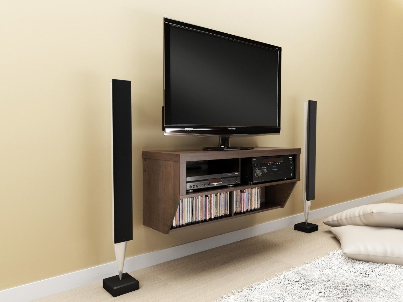 Creative And Modern Tv Wall Mount Ideas For Your Room Tv Wall