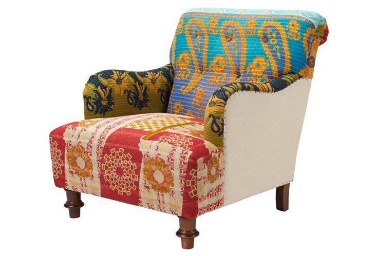 kantha chair