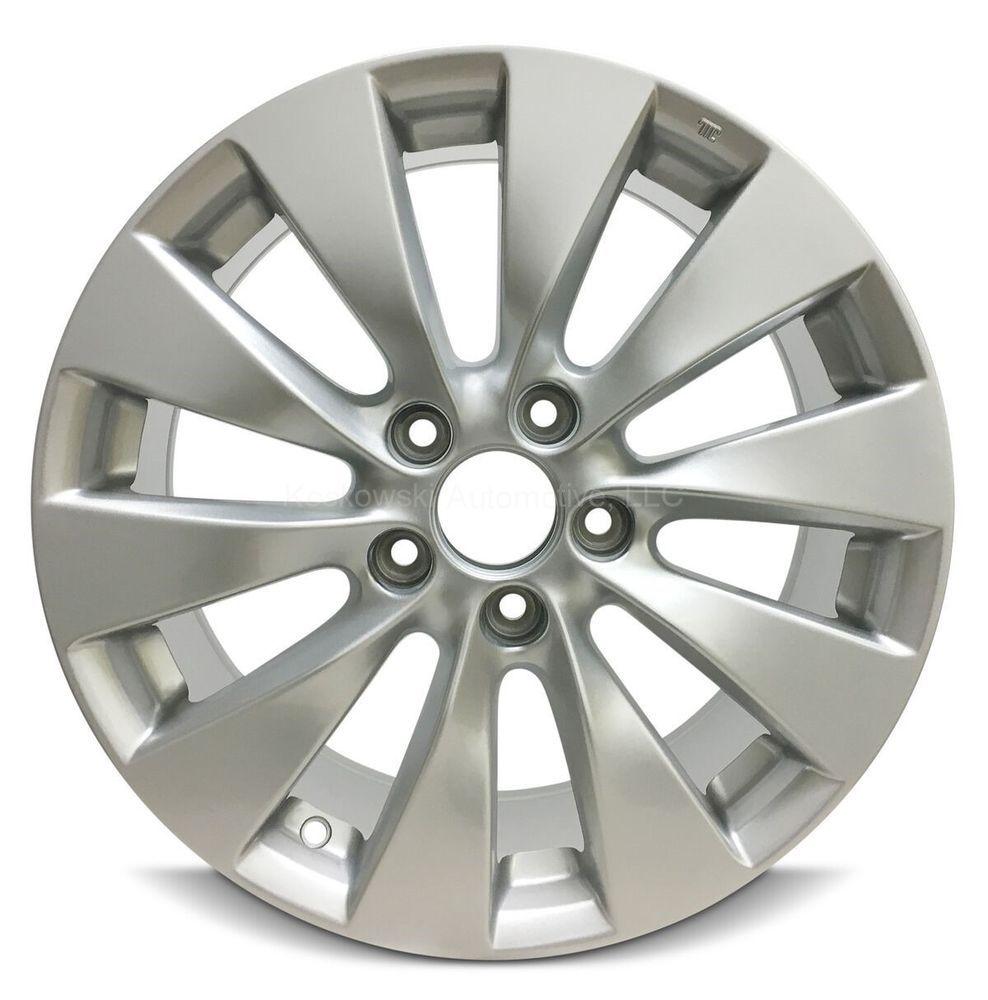 New Aluminum Wheel Fits Honda Accord 17 In 13 14 15 42700t2aa92 42700t2aa91 Honda Accord Alloy Wheel Alloy Wheel Rim