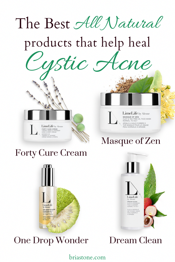 The Best All Natural Products That Help Heal Cystic Acne Limelife By Alcone Leaping Bunny Certified Skin Car Cruelty Free Skin Care Cystic Acne Skin Care Acne
