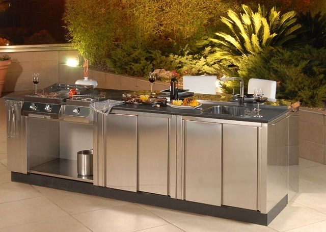 outdoor kitchen modules how to refurbish cabinets modular pinterest