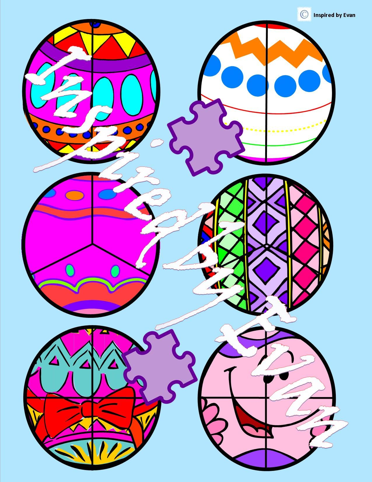 Easter Egg Fraction Circles Cut Amp Paste For Autism