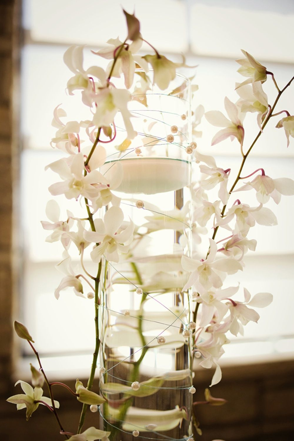 elegant flowers hawaii reception | elegant-white-orchid-centerpiece ...
