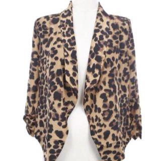 Leopard cardigan! Love it!!