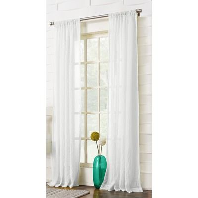 No 918 Leland Single Curtain Panel Reviews Wayfair Curtains