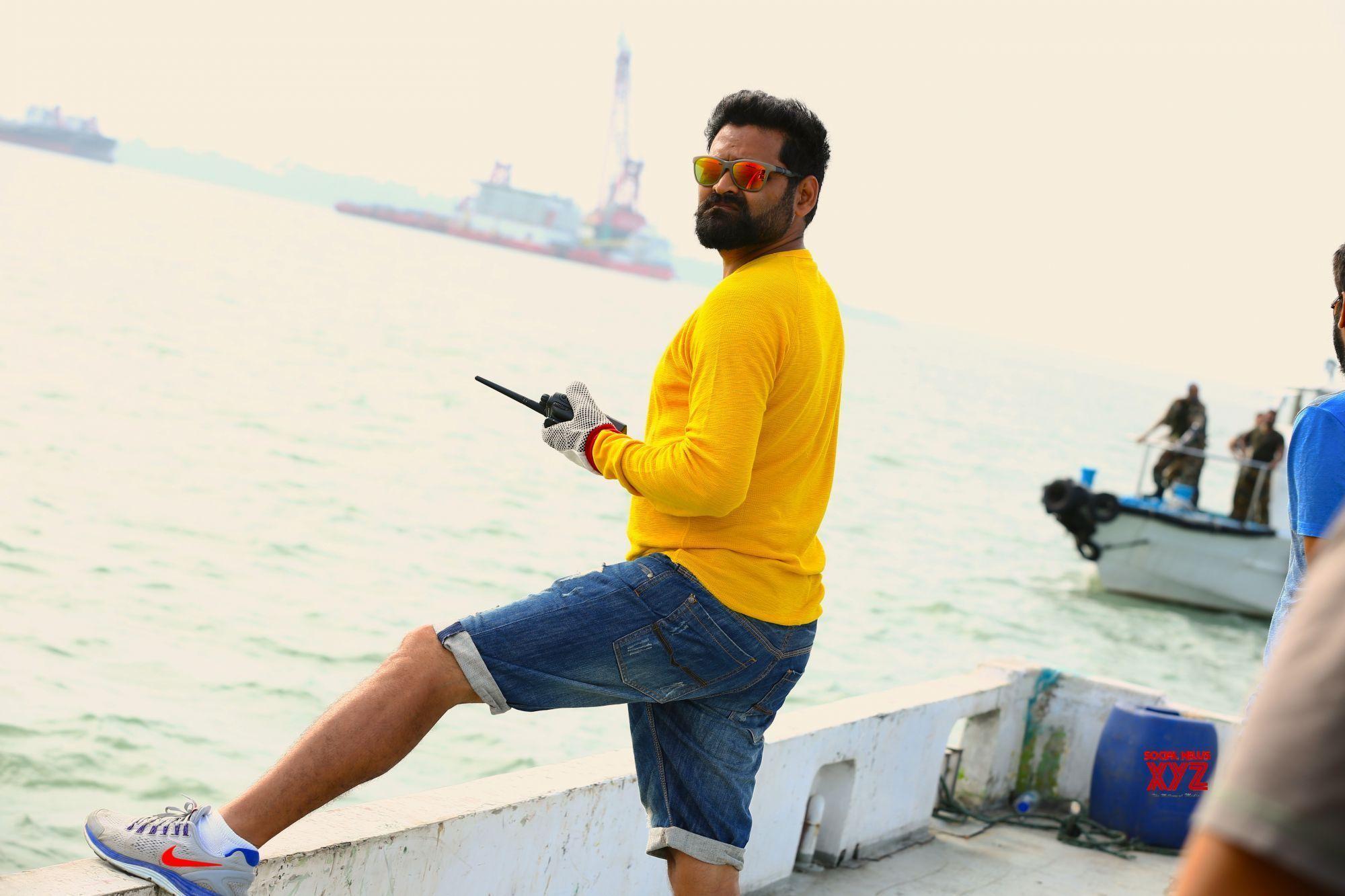 Director Praveen Sattaru Stills From Garuda Vega Film