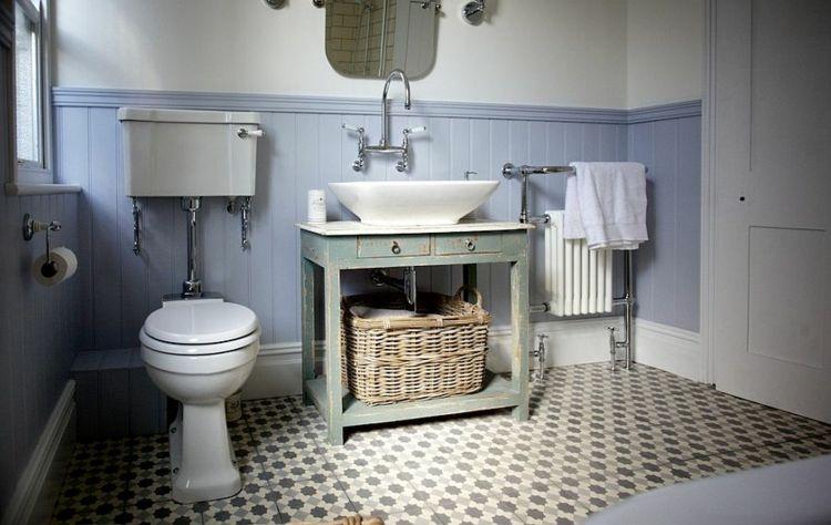 Romanticismo y dulzura en el baño - 50 diseños Shabby Chic ...