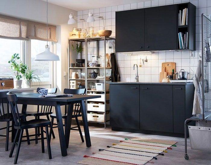 Kitchenette ikea : 18 modèles pour une mini cuisine au top