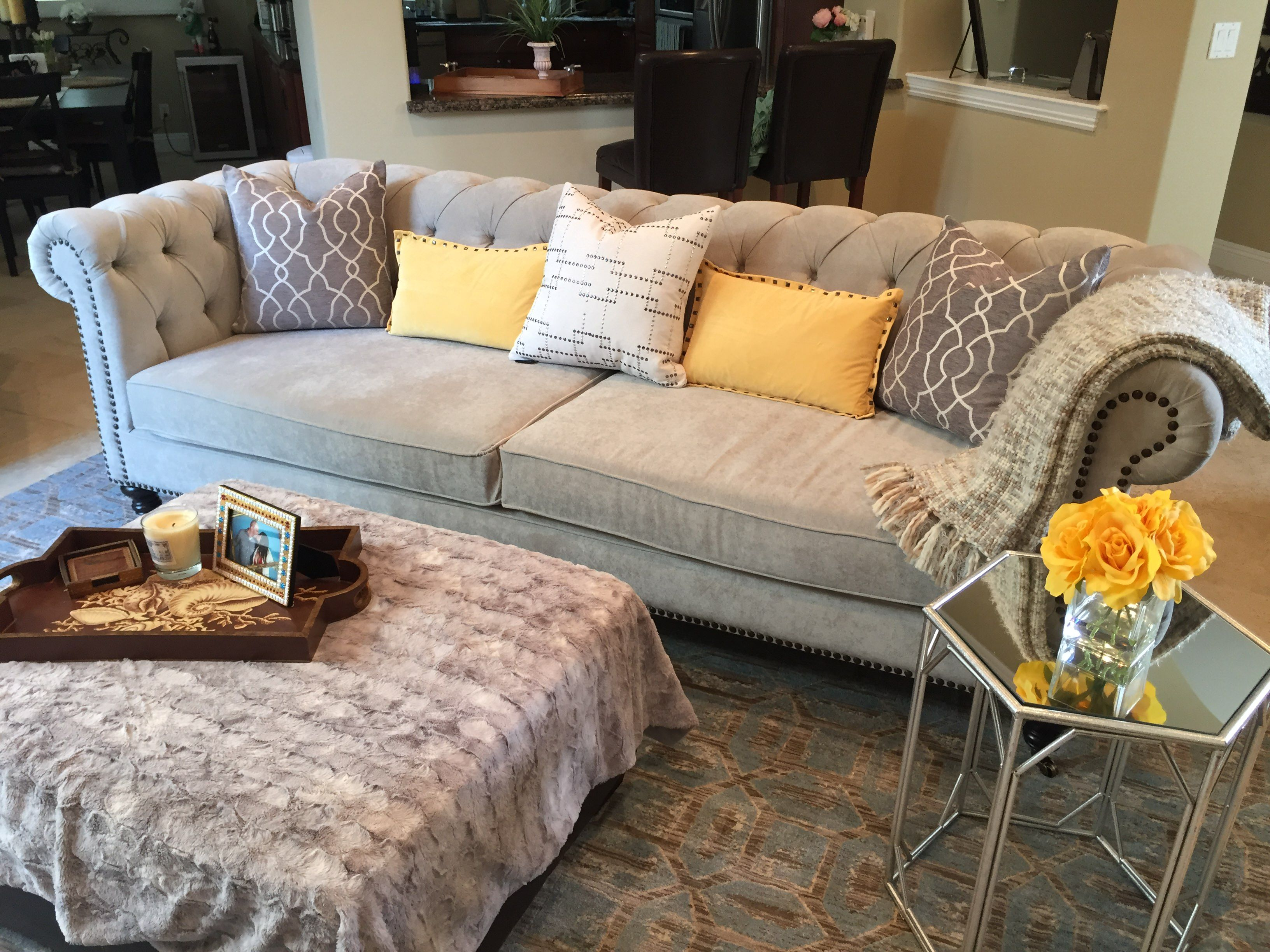 Large Chesterfield Sofa Find More Sofas And Sectionals This At The Company Www Thesofaco