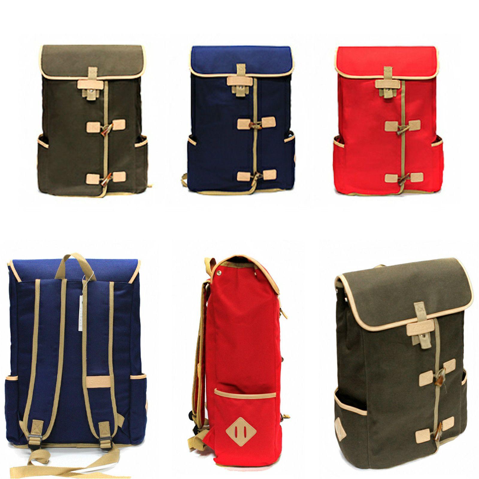 WOMENS MENS Canvas backpack fashion designed book bag unique ...
