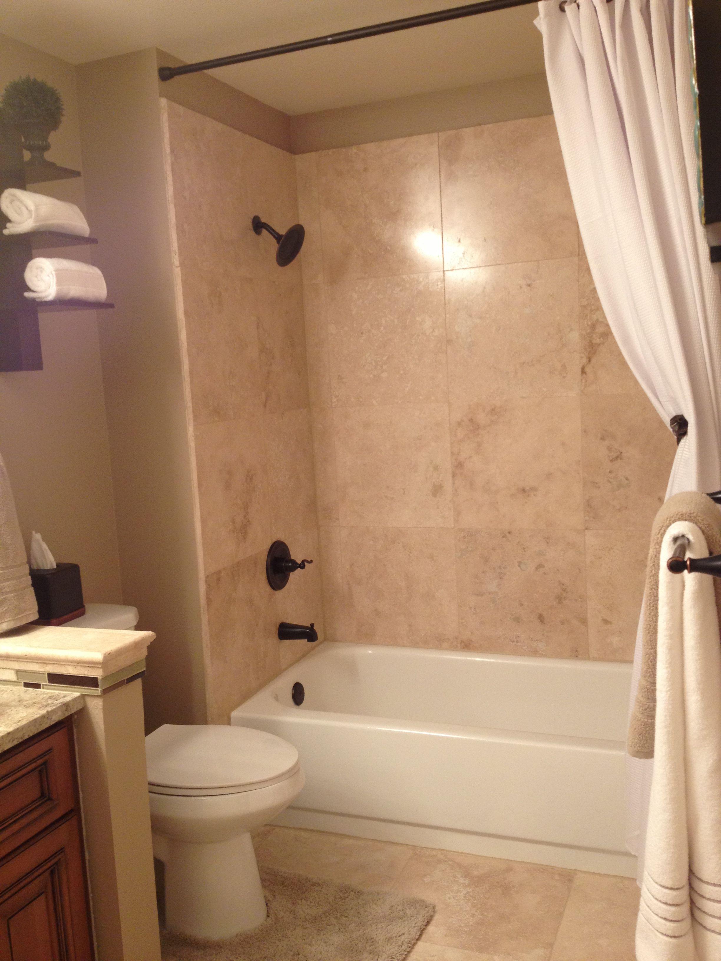 Guest shower remodel done kidsu bathroom pinterest bath
