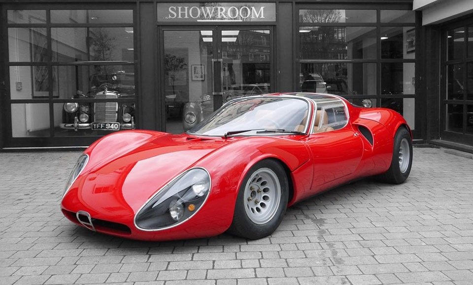 Lovely Regarded As One Of The Most Beautifully Designed Car Of All Time, This 1967 Alfa  Romeo Tipo 33 Stradale Continuation Is One Of 18 Ever Produced.