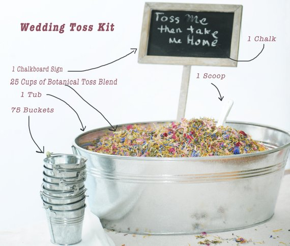 Wedding Exit Toss, KIT