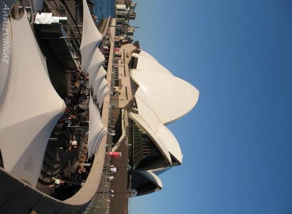 L'opéra de Sydney : inspirations.
