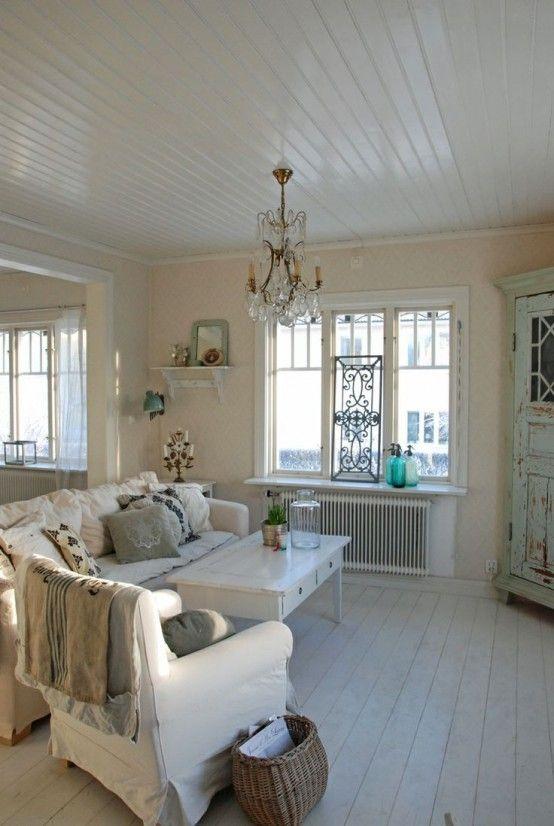 37 Enchanted Shabby Chic Living Room Designs  Digsdigs  Shabby Enchanting Chic Living Room Designs Inspiration Design