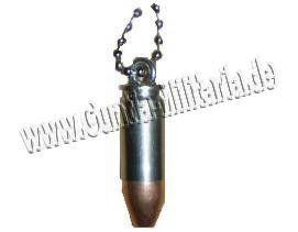 Commando Industries Patronen Halskette 9mm / mehr Infos auf: www.Guntia-Militaria-Shop.de