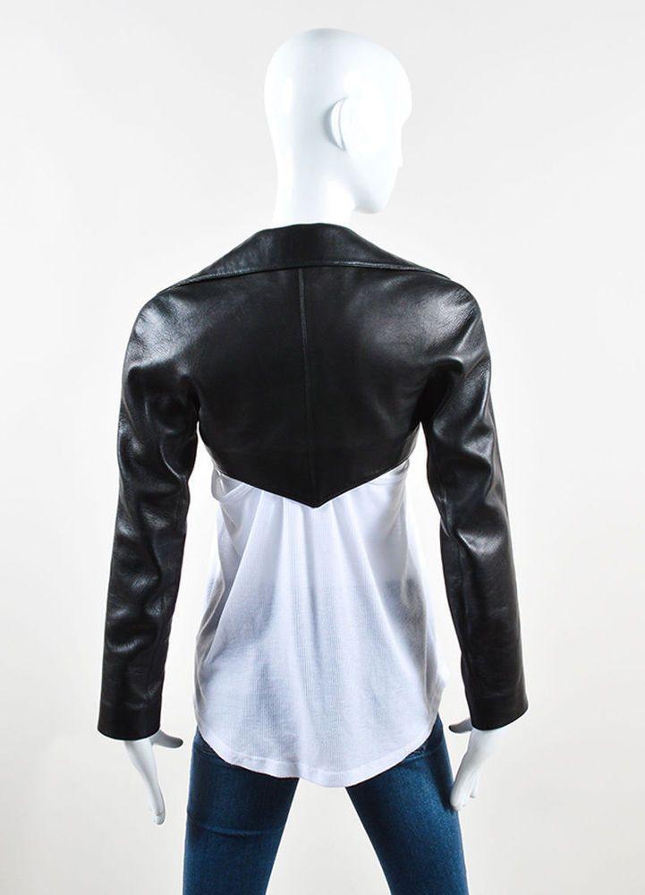 bed56135690 KTC-001- 100% Genuine Lambskin Leather Long Sleeve Cropped Moto Bolero  jacket  KTCBrad  BoleroShrug