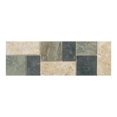 Tile Decorative Accents Daltile Continental Slate Multicolored 4 Inx 12 Inporcelain