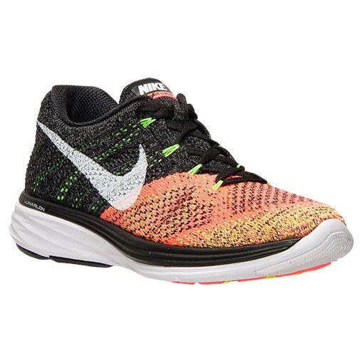 premium selection cbc01 bb494 Women s Nike Flyknit Lunar 3 Running Shoes - 698182 007   Finish Line