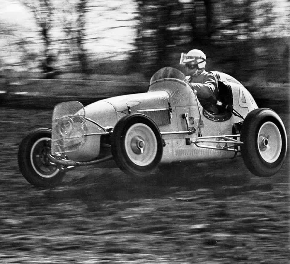 Tommy Hinnershitz Up On The Wheel At Williams Grove Sprint Cars Dirt Car Racing Sprint Car Racing