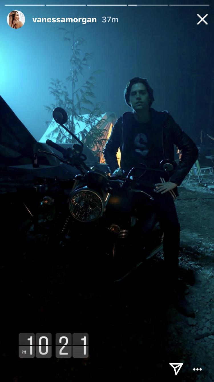 Colesrpousse Jugheadjones Serpents Riverdale Season3 Cole