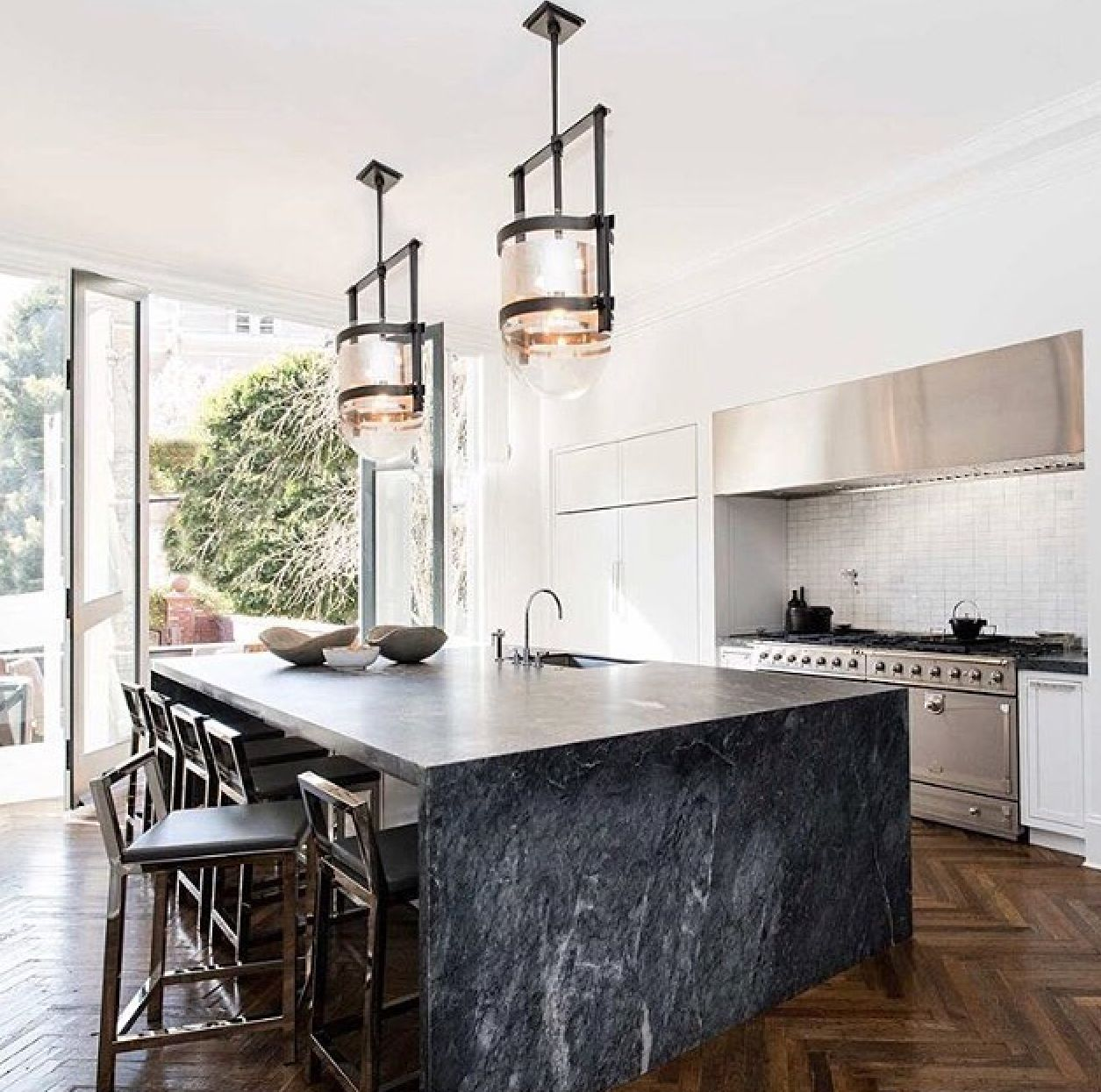 large black marble island marble kitchen island kitchen marble kitchen design on kitchen island ideas black id=88248