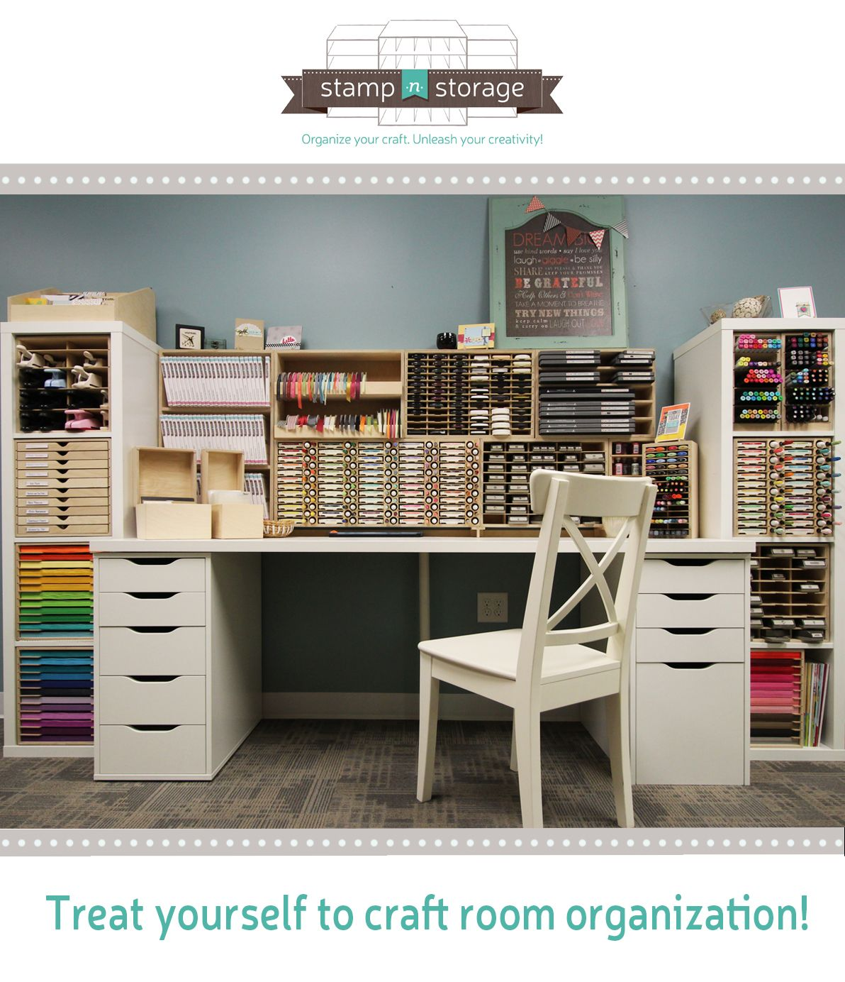 Ordinaire Treat Yourself To Craft Room Organization!