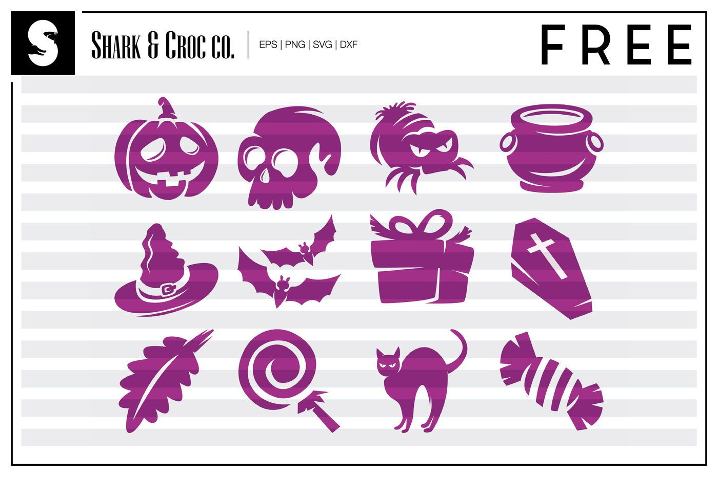 FREE Spooky Halloween SVG Clipart Halloween SVG DXF