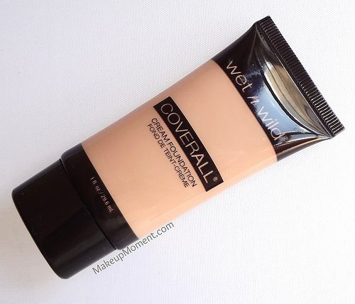 Makeup Moment Wet N Wild Cover All Cream Foundation Wet N Wild Coverall Wet N Wild Wet