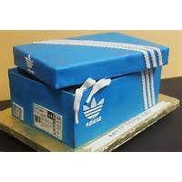 Pin Adidas Sneaker Cake on Pinterest   Shoe box cake, Shoe box ...