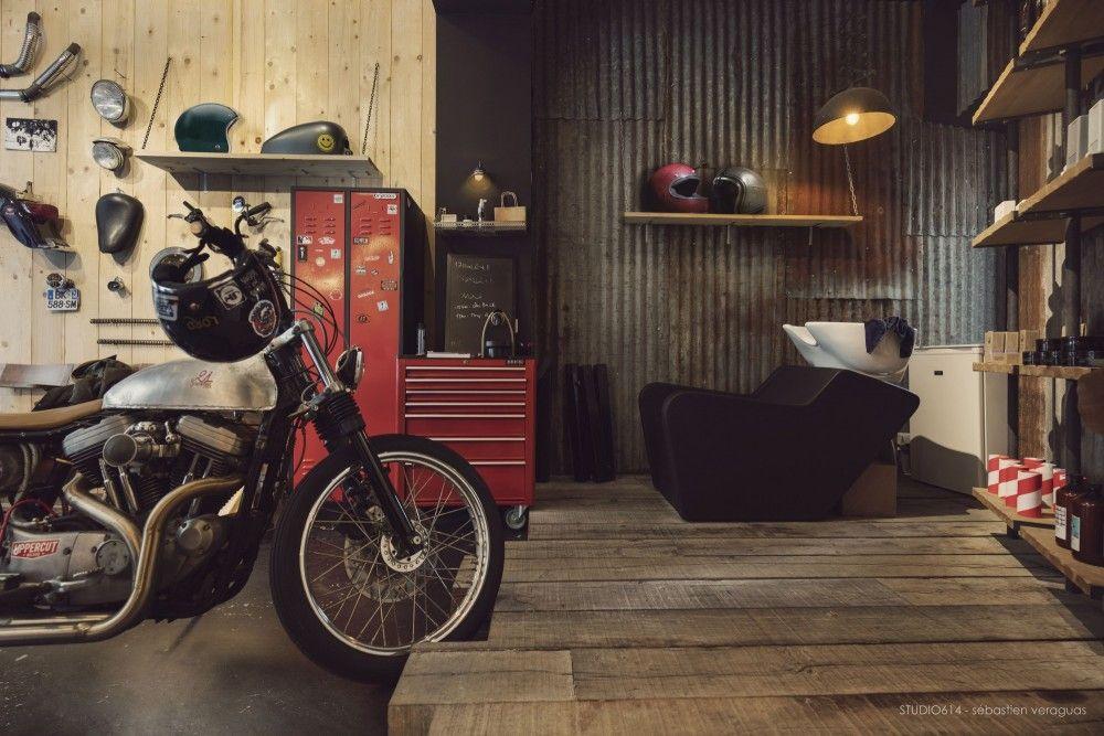moto harley davidson coiffeur casque t le en metal. Black Bedroom Furniture Sets. Home Design Ideas
