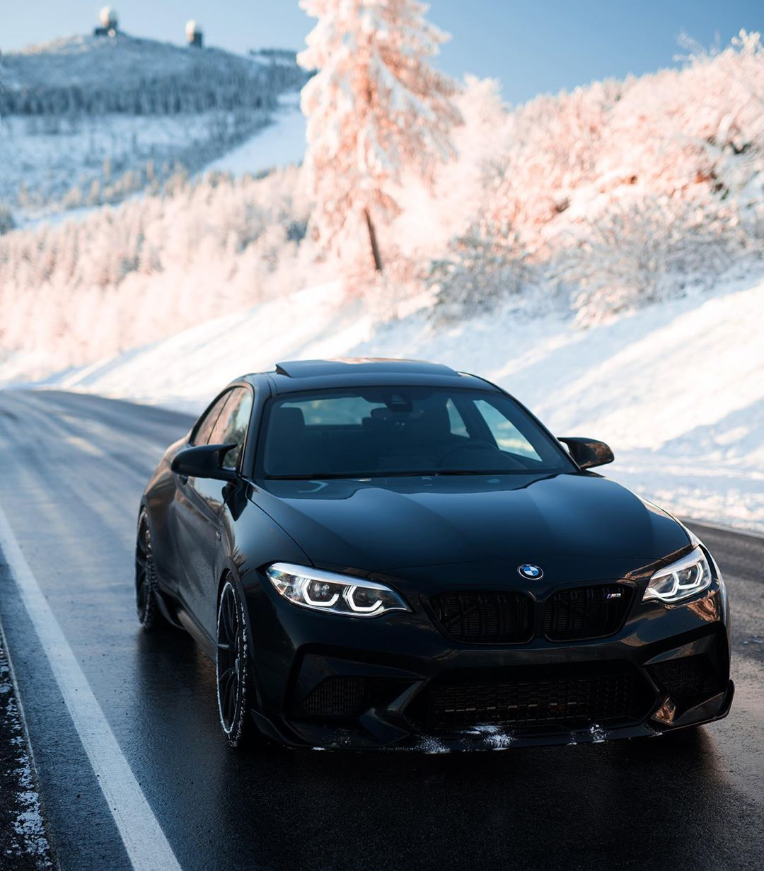 Mybmwadventures M2 Competition On Instagram Today Right After Sunrise Are You Ready For Those Winter Shots Yet Bmw M2 Competition M2 Competition Bmw M2