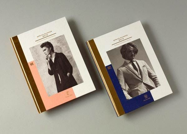 Clothing and Fashion Catalog Design Design Ampersand Typography - fashion design brochure template