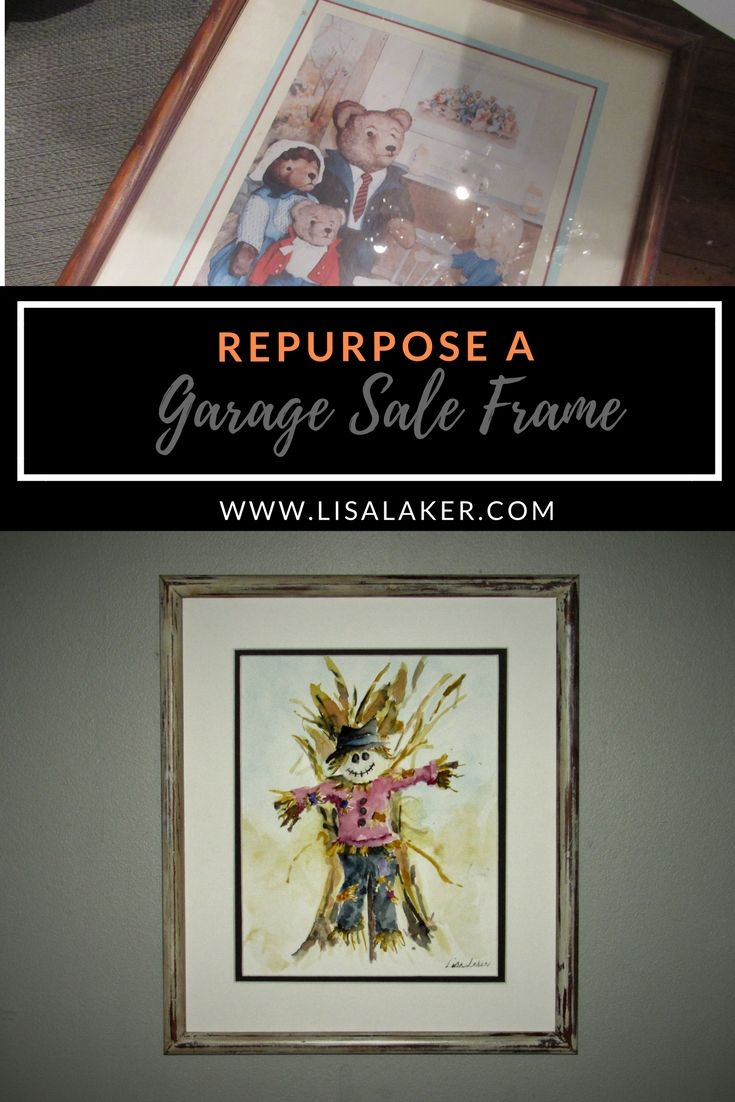 Repurpose an old frame save money on framing art paint tips how repurpose an old frame save money on framing art paint tips how to solutioingenieria Image collections